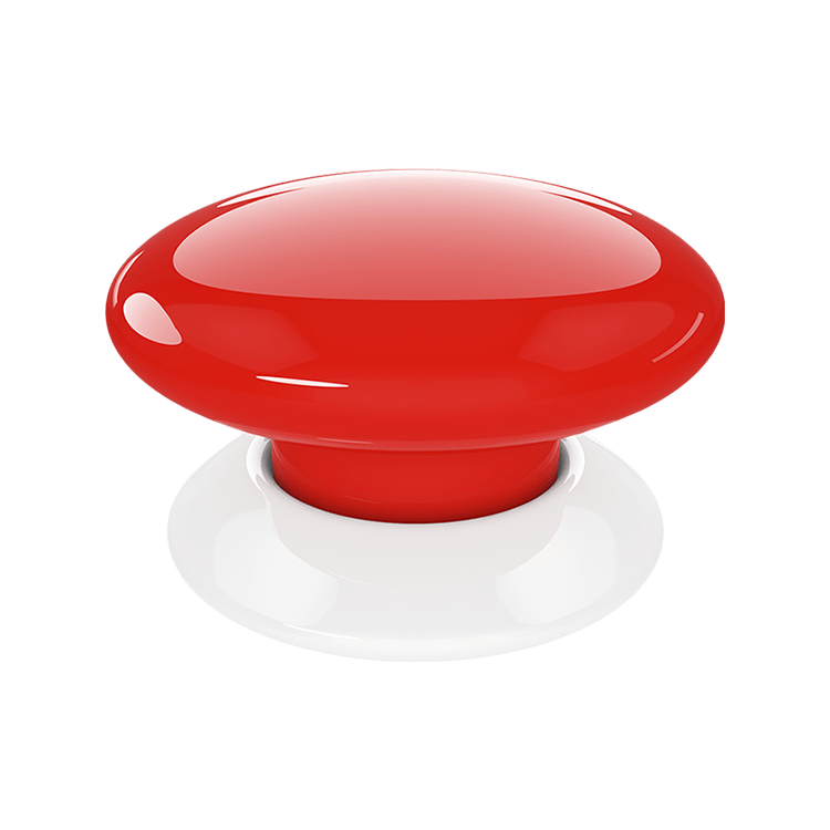 Fibaro FGPB-101-3 - The Button - Red