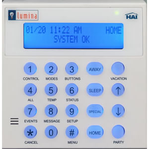 Leviton Security & Automation 33A00-19 - Lumina LCD Keypad
