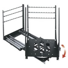 Middle Atlantic SRSR-2-24 - Rotating Sliding 2-Rail Rack System, 24 Space<font color=#CC0000><b> MAP</b></font>