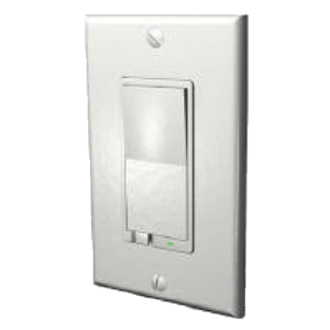 Evolve LRM-AS - Z-Wave 500W Wall Mounted Dimmer - White