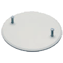 "Arlington Industries CP40 - 4"" Ceiling Box Cover - White"