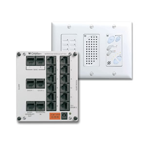 OnQ Legrand IC1002-WH - Cat-5(e) Intercom Module and Main Console Unit - White