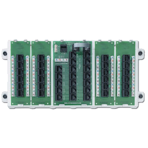 Leviton 47603-24P - 24-Port Structured Media Panel w/4 Cat-5(e) Data/Voice Boards