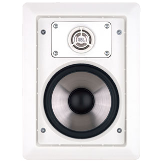 "Leviton AEI80 - JBL 8"" In-Wall Speaker - White (Pair)"