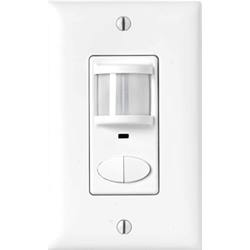 SensorSwitch WSD-2P-I - 2-Pole Wall Occupancy Switch - Ivory