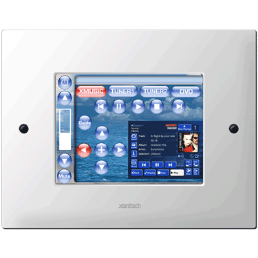 "Xantech SPLCD64V - 6.4"" LCD In-Wall Customizable Touchscreen w/Video"